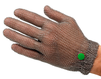 WILCO-​metal mesh glove, DETECTABLE, whithout cuff