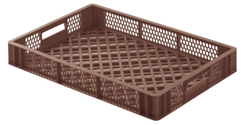 Bread crate H87, perforated sides/bottom