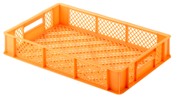 Bread crate H99, perforated sides/bottom