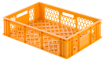 Bread crate H150, perforated sides/bottom