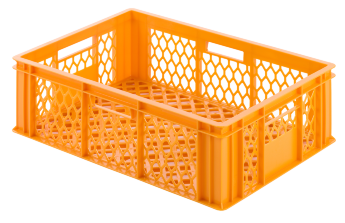 Bread crate H200, perforated sides/bottom