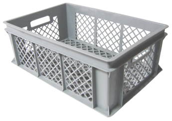 Bread crate H220, perforated sides/bottom