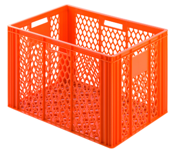 Bread crate H420, perforated sides/bottom