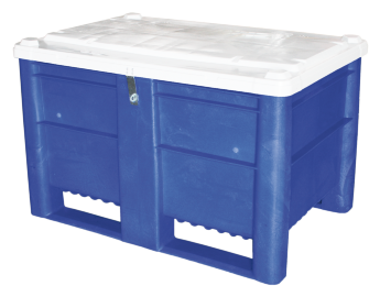 Dolav Big box 500 l, with hinged lid, lockable