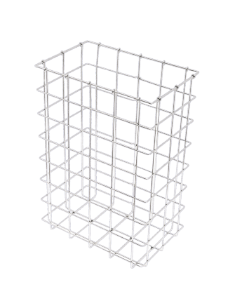Paper basket made of stainless steel wire mesh 40 litre