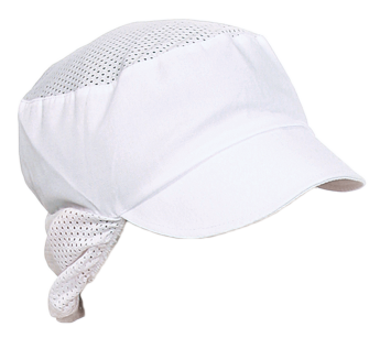 Snood cap with net insert and hair protection