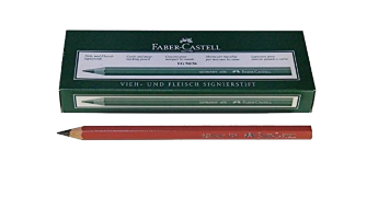 FABER CASTELL meat marking pencils Nr. 698, brown