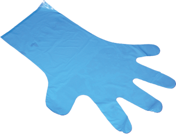 Disposable poly gloves PE