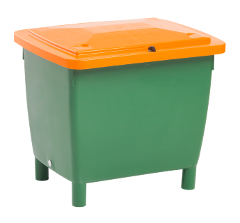 Large container 210 l, hinged lid