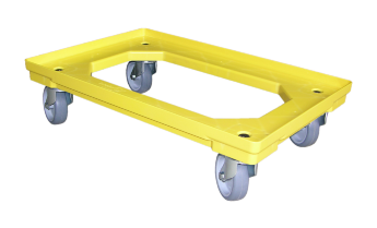 Transport Troleys with 4 rubber-​steering Rolers