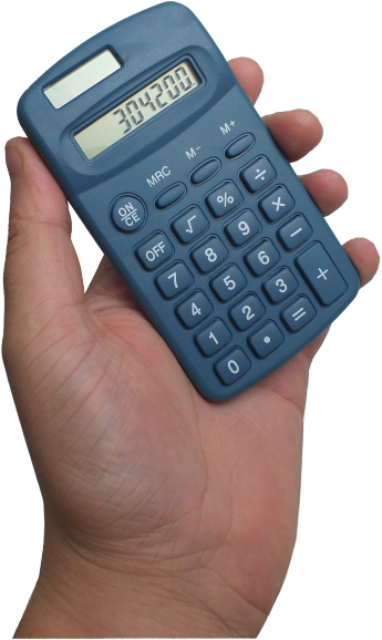 Fully Detectable Handheld Calculator with Solar Power