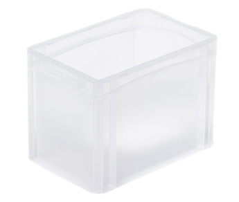 Euro container basicline BL32H4 translucent
